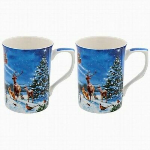 Magic of Christmas Set of 2 Mugs