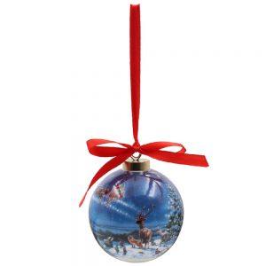 Magic of Christmas Ceramic Bauble