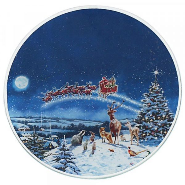 Magic of Christmas 20cm Candle Plate