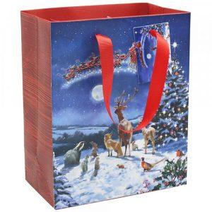 Magic of Christmas Large Gift Bag