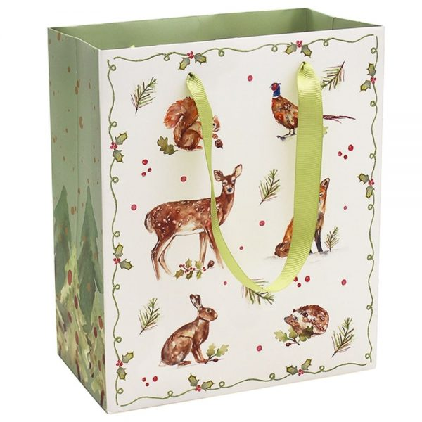 Winter Forest Gift Bag Large