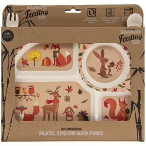 Woodland Bamboo Eating Set