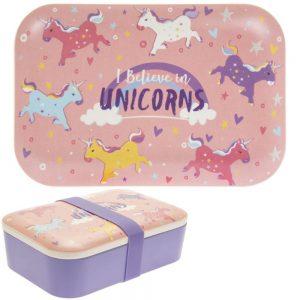 Bamboo Unicorn Lunch Box