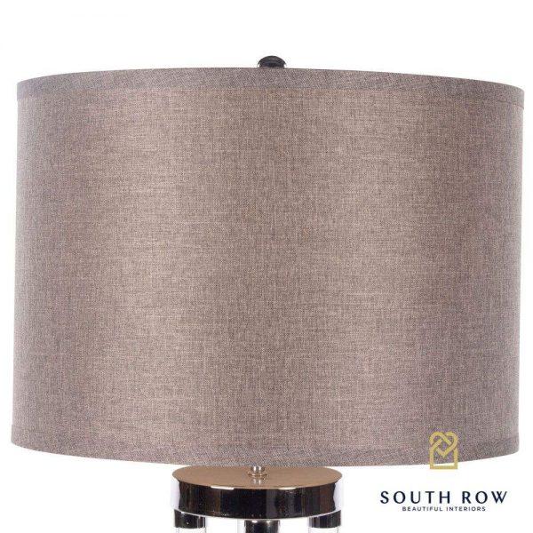 Venus Table Lamp Textured Grey Shade