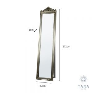 Chateau Cheval Mirror Champagne