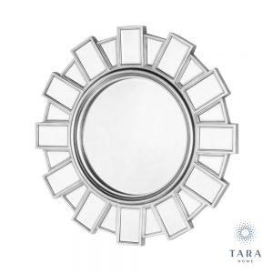 Gemma Silver Wall Mirror