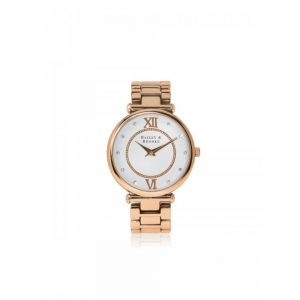 Bailey and Brooke Timeless Rose Gold Ladies Watch
