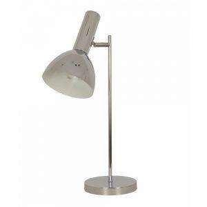 Harris Chrome Metal Desk Lamp