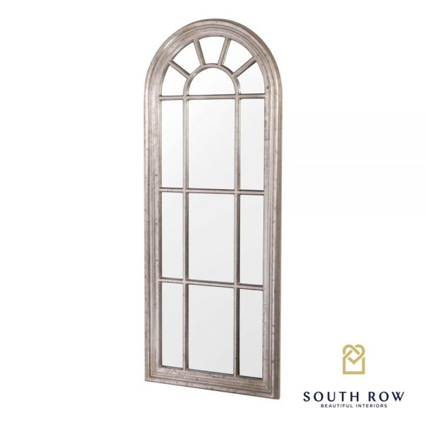 Palladian Large Window Mirror Country Champagne