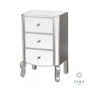 Reflections 3 Drawer Unit with Curved Legs