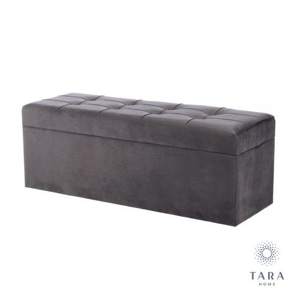 Vienna Charcoal Grey Trunk with Storage
