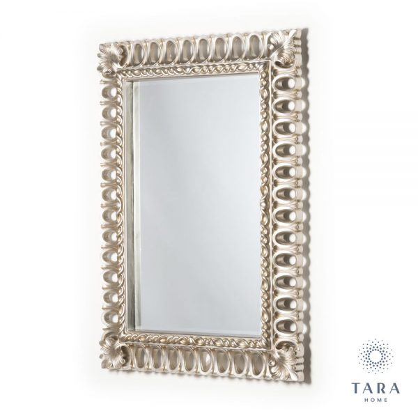 Reflections Champagne Rectangle Loop Mirror