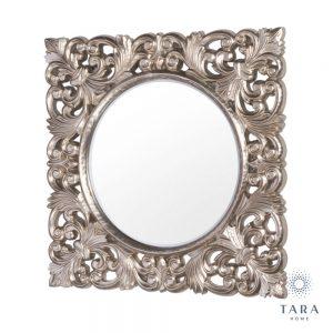 Varina Wall Mirror Square Champagne Colour
