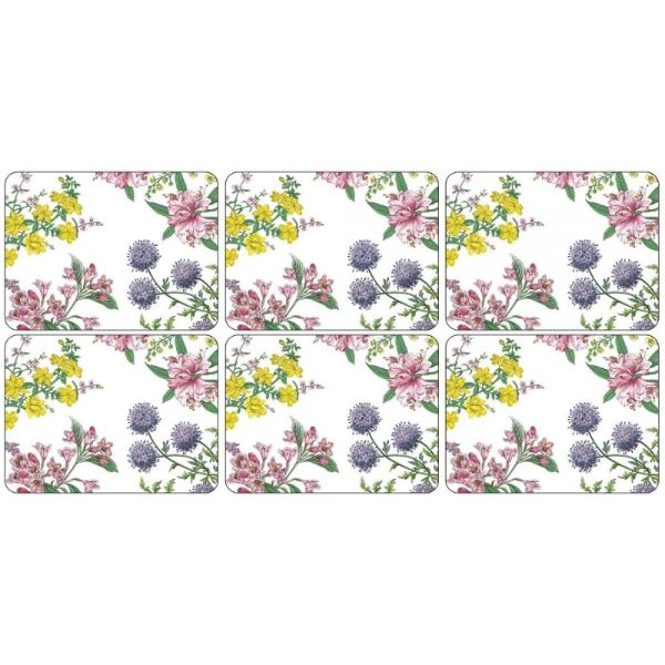 Pimpernel Stafford Blooms Six Placemats