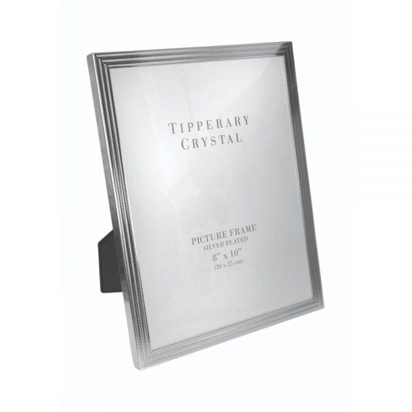 Tipperary Crystal Herringbone Frame 8x10
