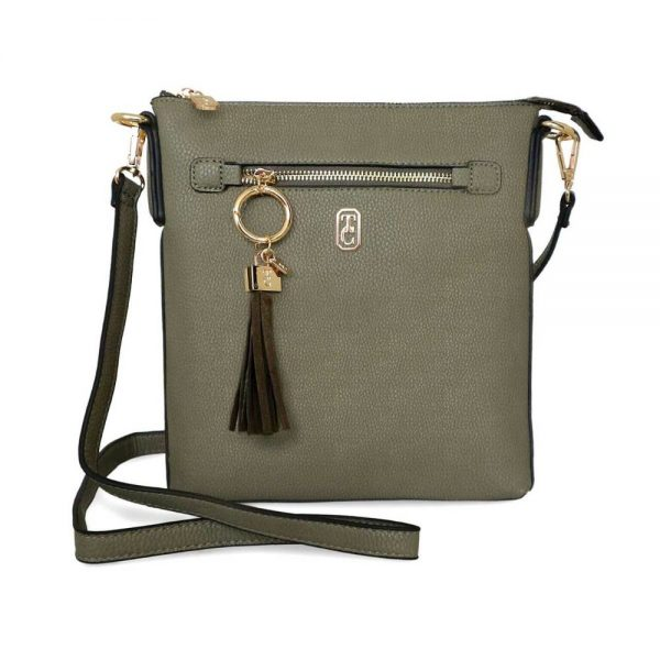 Tipperary Chelsea Cross Body Pouch Olive