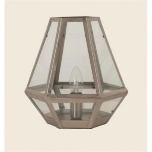 Glass Lantern Lamp