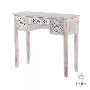 Jessie Antique White Console Table
