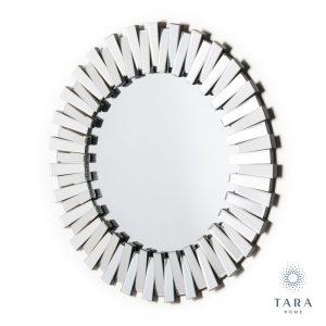 Link 3 Dimensional Round Mirror
