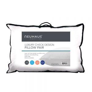 Neuhaus Pair of Luxury Microfibre Pillows