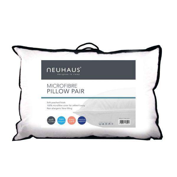 Neuhaus Microfibre Pillow Twin Pack