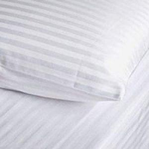 Dorma Pair of Satin Stripe Pillowcases