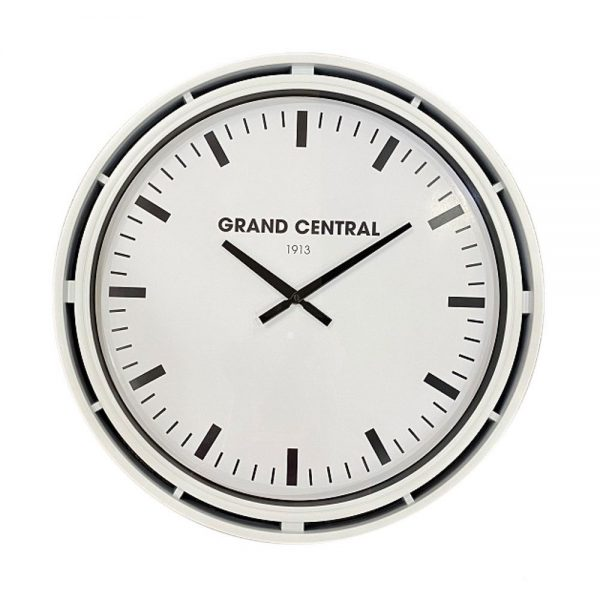 Grand Central Clock Ivory Gloss Finish