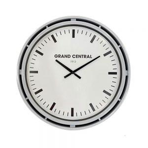 Grand Central Clock Grey Gloss Finish