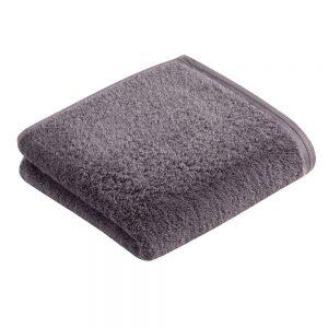 Vossen Vegan Life Towel Dunkelgrau