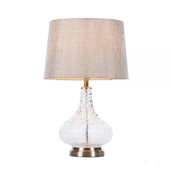 Lana Bulb Table Lamp Charcoal