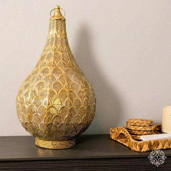 Casablanca Gold Table Lamp