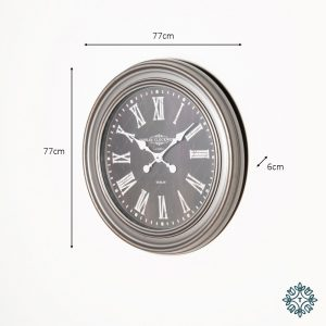 Grey Wall Clock - Dimensions