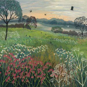 Jo Grundy Summers Eve Canvas Art