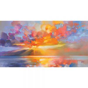 Scott Naismith Arran Equinox Canvas Art