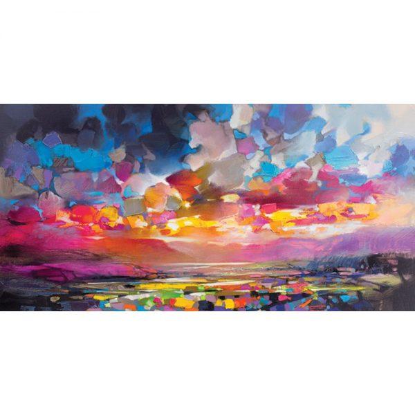 Scott Naismith Highland Particles Canvas