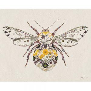 Helen Ahpornsiri, Buttercup Bumblebee Canvas Print