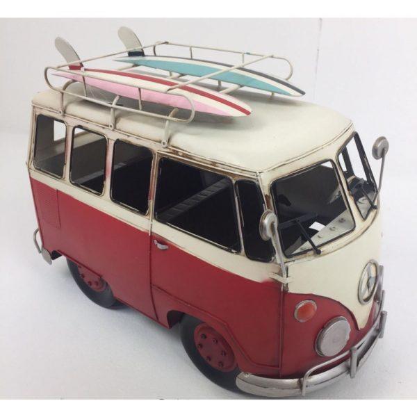 VW Red Vintage Camper