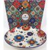 Slaneyside Pottery Marrakesh Oval Platter White