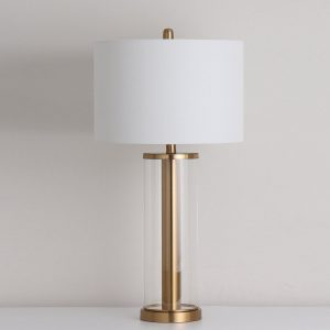 Visby Table Lamp Gold H30inch
