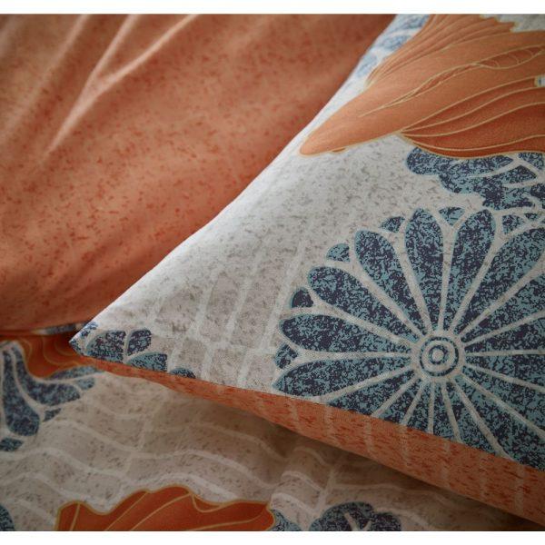 Koi Mandarin Reversible Duvet Set