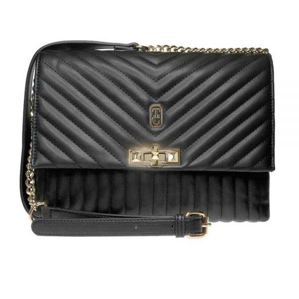 Versailles Cross Body Black Handbag