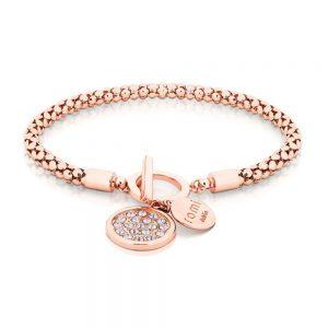 Romi Rose Gold Popcorn Chain Bracelet