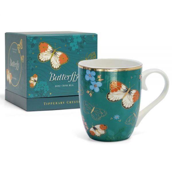 Single Butterfly Mug The Orange Tip