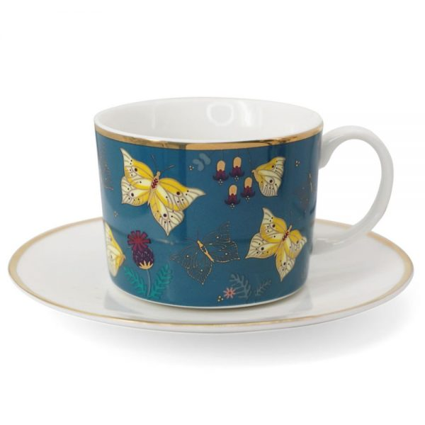 Butterfly Set of 2 Cappuccino