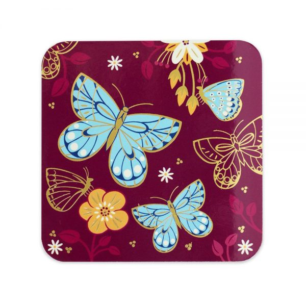 Butterfly Set of 6 Coasters