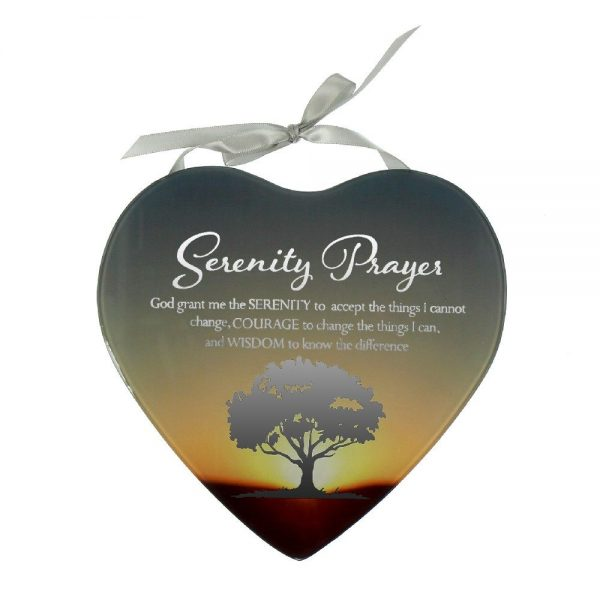 Reflections Of The Heart Mirror Plaque Serenity
