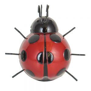 Medium Red Ladybird Pot Hanger
