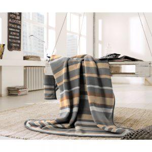 Scandi Stripe Blanket Cotton