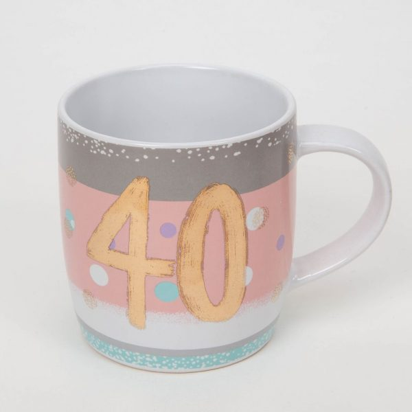 Bellini 40th Birthday Mug