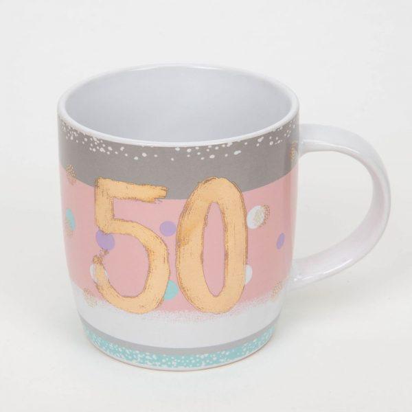 Bellini 50th Birthday Mug